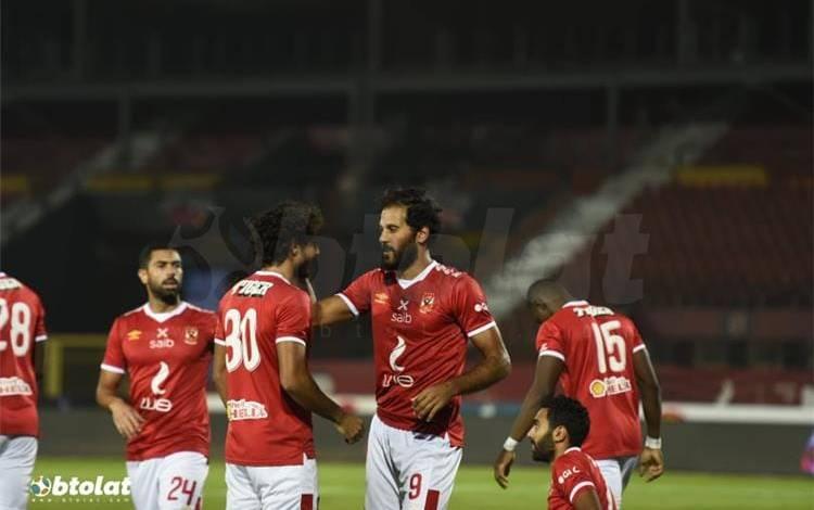 اياب الدوري المصري بيراميدز يتغلب على نادي مصر بهدف وحيد والاهلي يقهر انبى بثلاثية.