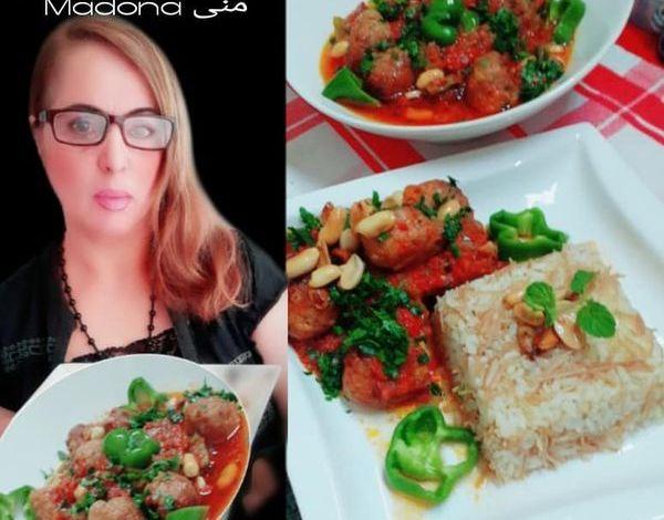 """طبخات بنت الشام """"طريقة تحضير داوود باشا بالدجاج"""""""