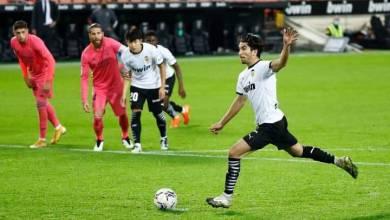 صورة هاتريك ركلات جزاء فالنسيا تتغلب على ريال مدريد