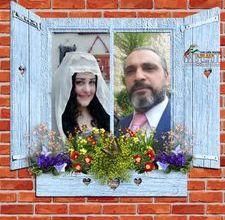 صورة إعلان خطوبة الفنان التشكيلي إيهاب زين الدين والفنانة التشكيلية إيمان الحمود
