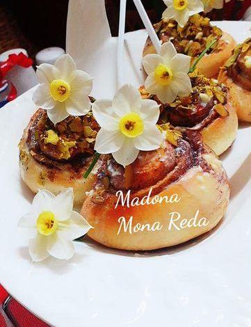 """طبخات بنت الشام """" حلا السينابون البسيط"""""""