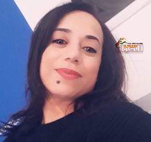 صورة حنان زعواطي/ الحمامة البيضاء جزء مني وفلسفتي في الحياة وهي رسالة حياة بياضها بياض قلب طفلة