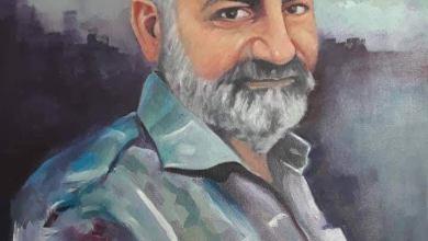 صورة فيصل جابر عاشق الفن الذي سار في ركبه حتى  شاب رأسه ولحيته
