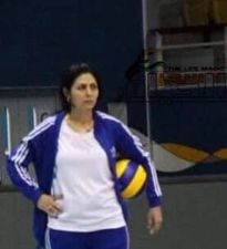 نجمة كرة الطائرة السورية سهى القصير