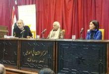 """صورة الدكتور حسن حميد يوقع روايته """"الجرجماني"""" في ثقافي أبورمانة"""