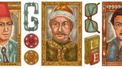 """صورة غوغل تحتفي بالذكرى 75 لميلاد الفنان نور الشريف """"ما هو اسمه الحقيقي ومحطات من حياته """""""