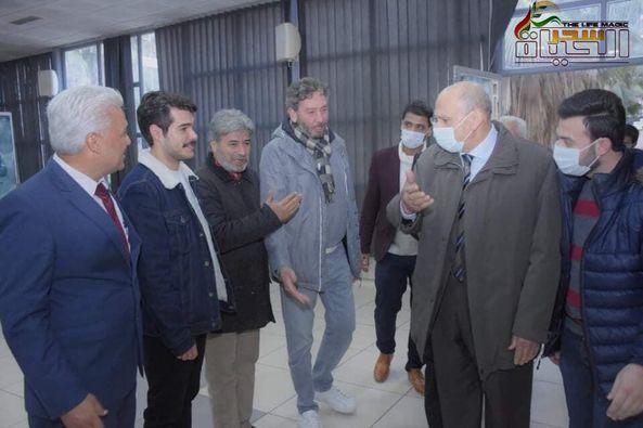 """توفيق اسكندر هكذا تلقت أهل حلب عروض فيلم """"أنت جريح """""""