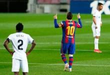 صورة برشلونة ينت�ض ويهزم خيتا�ي بخماسية �ي الدوري الإسباني