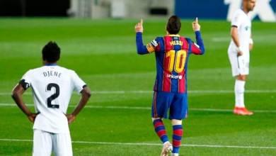 صورة برشلونة ينتفض ويهزم خيتافي بخماسية في الدوري الإسباني