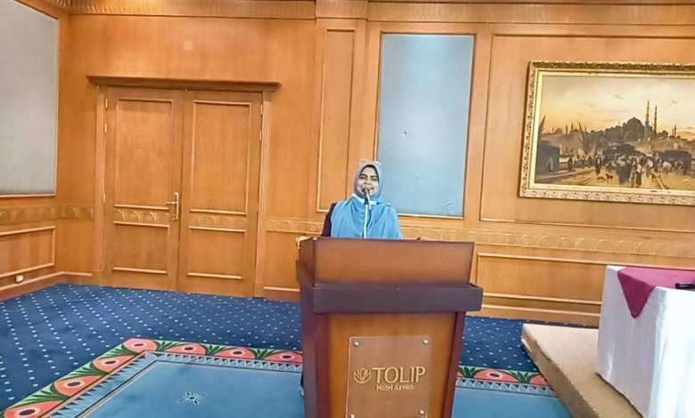 سها عبد الناصر ( الأخصائي النفسي المركزي بمديرية التضامن الأجتماعي بالقاهرة)
