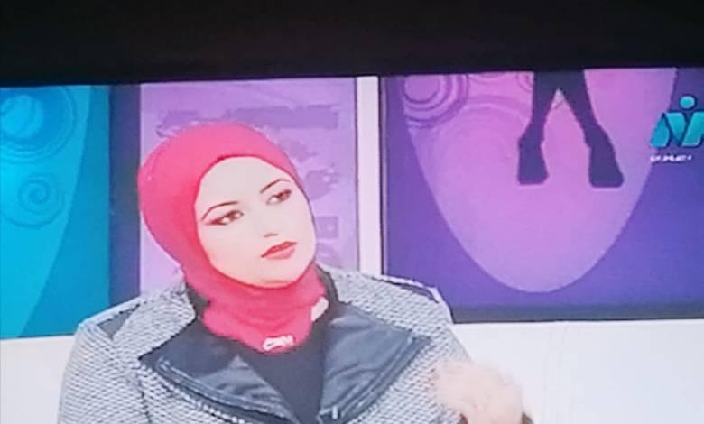 الكاتبة شيرين منصور عوده