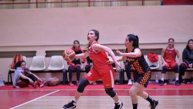 """صورة سنا جبلي لاعبة منتخب سورية وفريق الاتحاد بكرة السلة """"والدي شجعني وعلمني على حب اللعبة."""