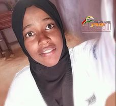صورة الرياضية السودانية سامية قسم حسن ..تألقت في لعبتي التايكوندو وكرة القدم