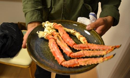 タラバガニ脚実食レポート