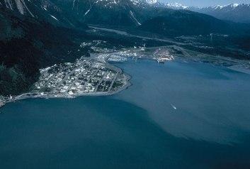 Seward, Alaska Aerial View