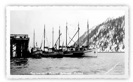 Portlock Bank, Seward, Alaska, 1920's