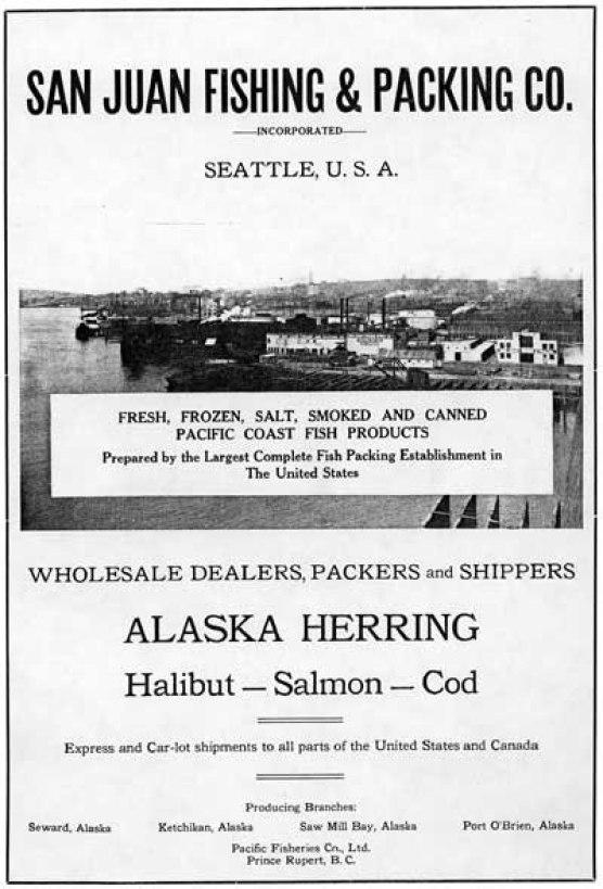 Seward, Alaska, San Juan Plant, 1921