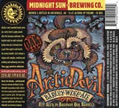 Arctic Devil Barley Wine Ale