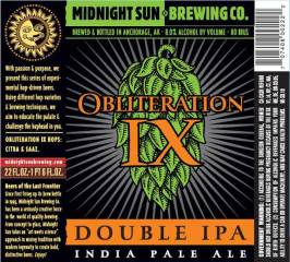 Obliteration IX Double IPA