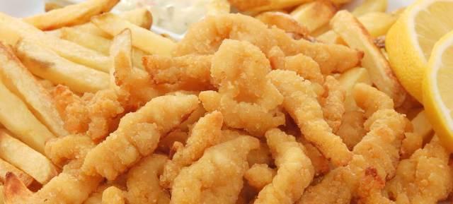 Fried clam strip recipe
