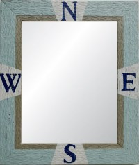 "The ""Savannah"" Coastal Mirror"