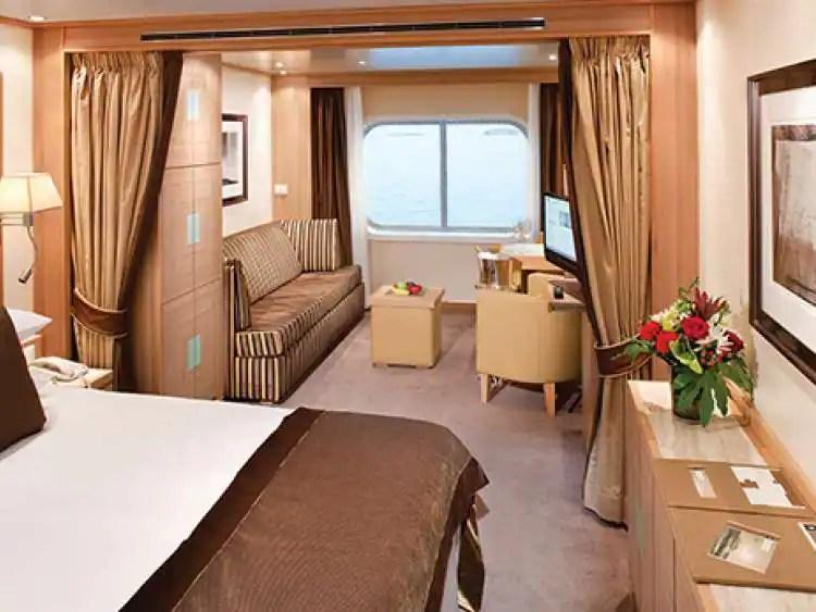 Luxury Cruise AllSuite Accommodations  Seabourn