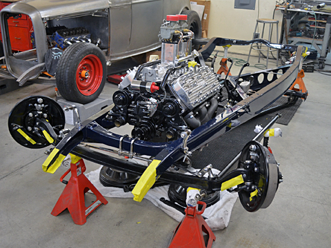 '32 Chassis Front