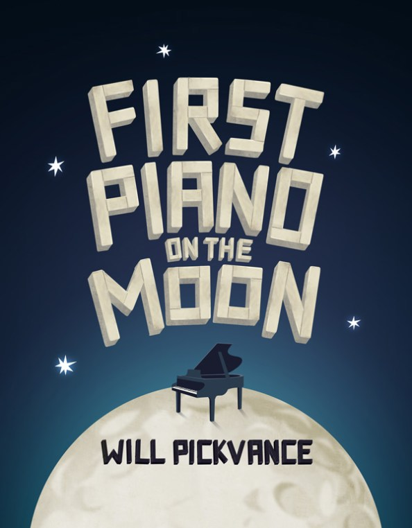 First Piano On The Moon - Will Pickvance - Logo