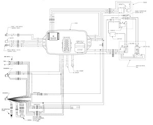 Wiring diagram for adding info center to GS | SeaDoo Forum