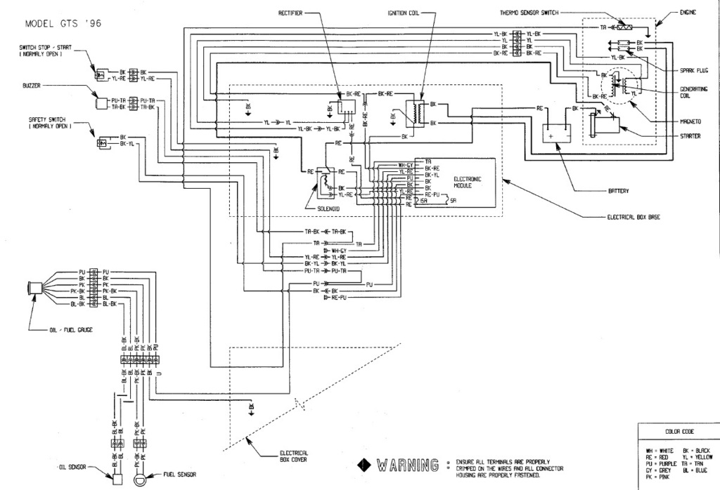 1997 Seadoo Speedster Wiring Diagram