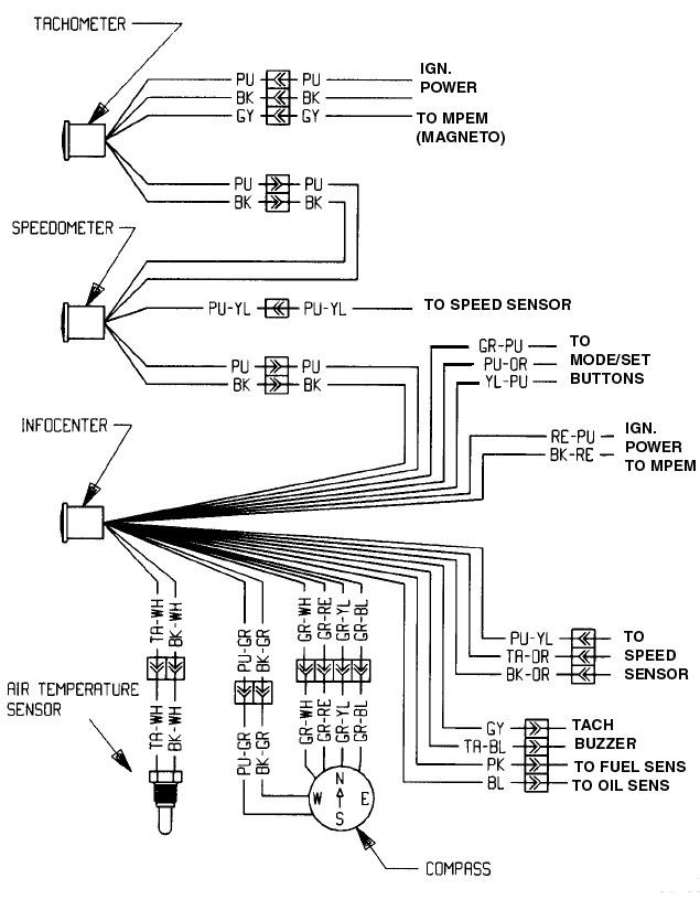 seadoo 587 wiring diagram