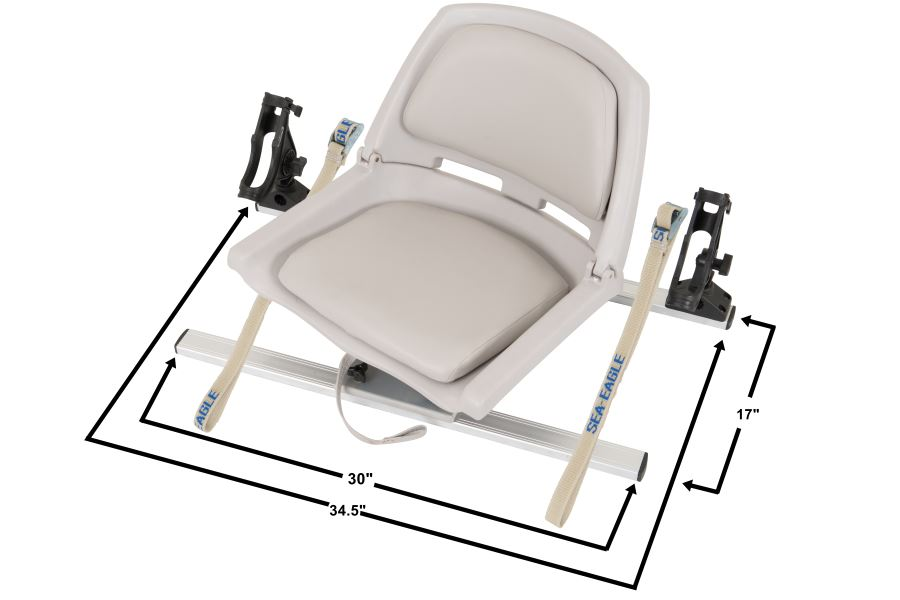 tall fishing chair lazy boy recliner covers seats for sea eagle kayaks paddleboards and boats swivel seat rig w scotty rod holders