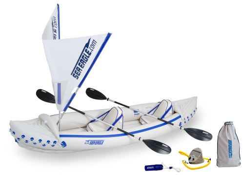 SE 370 QuikSail Inflatable Kayaks Package