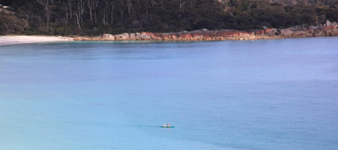 Views to the Rocks with Kayak