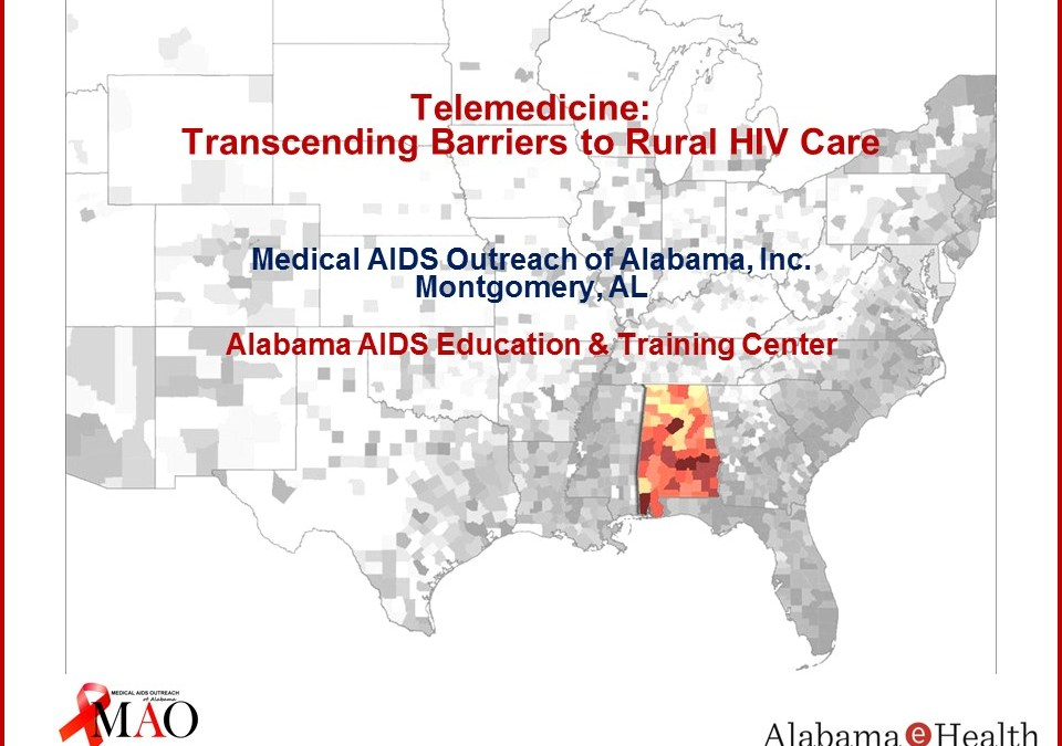 Webinar: Telemedicine: Transcending Barriers to Rural HIV Care