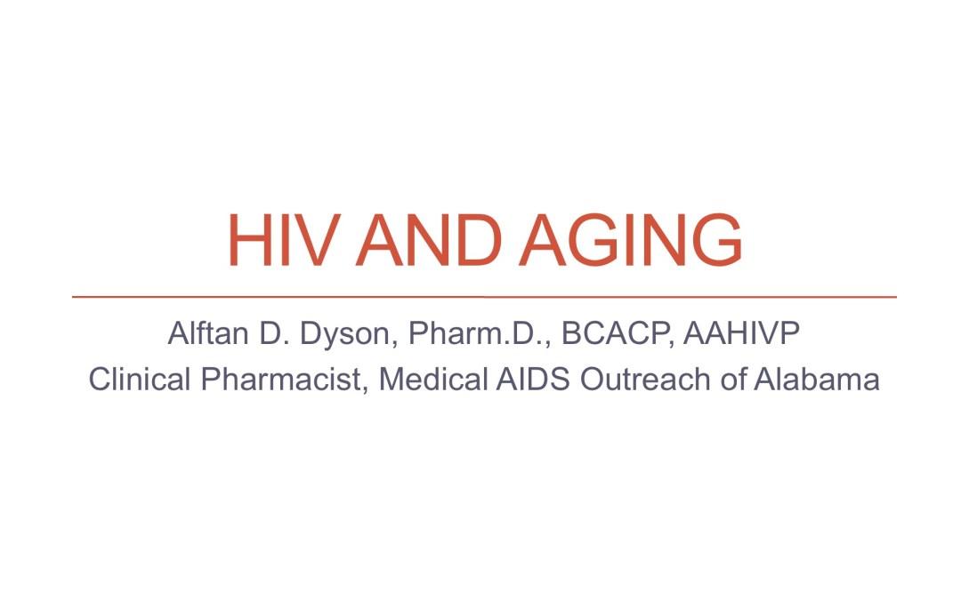 Webinar: HIV & Aging