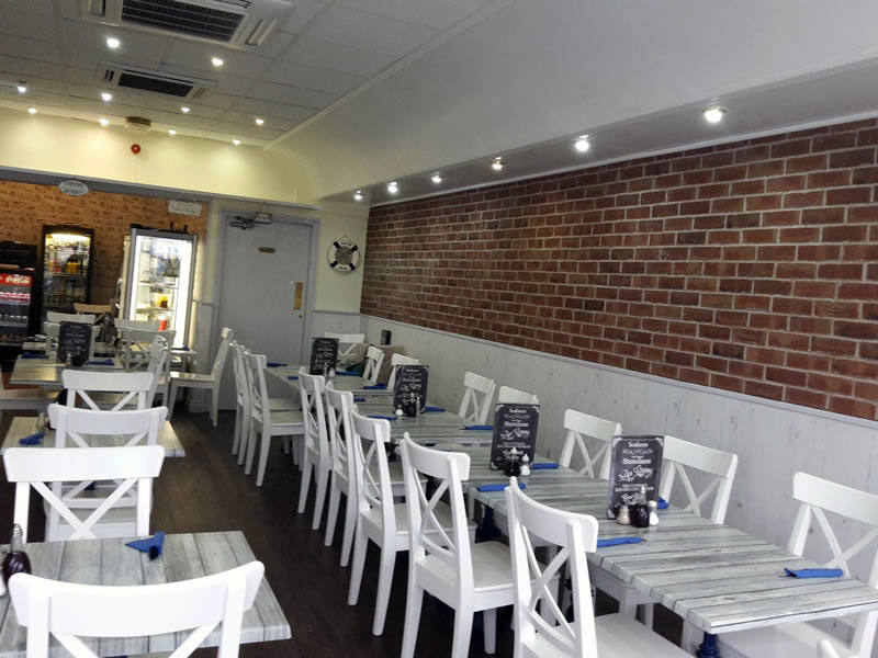 Visit Searafers Fish Restaurant. Open 7 days a week. Fish & Chips in Lytham St Annes. Lancashire.