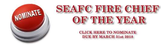 SEAFC Fire Chief Of The Year Nomination