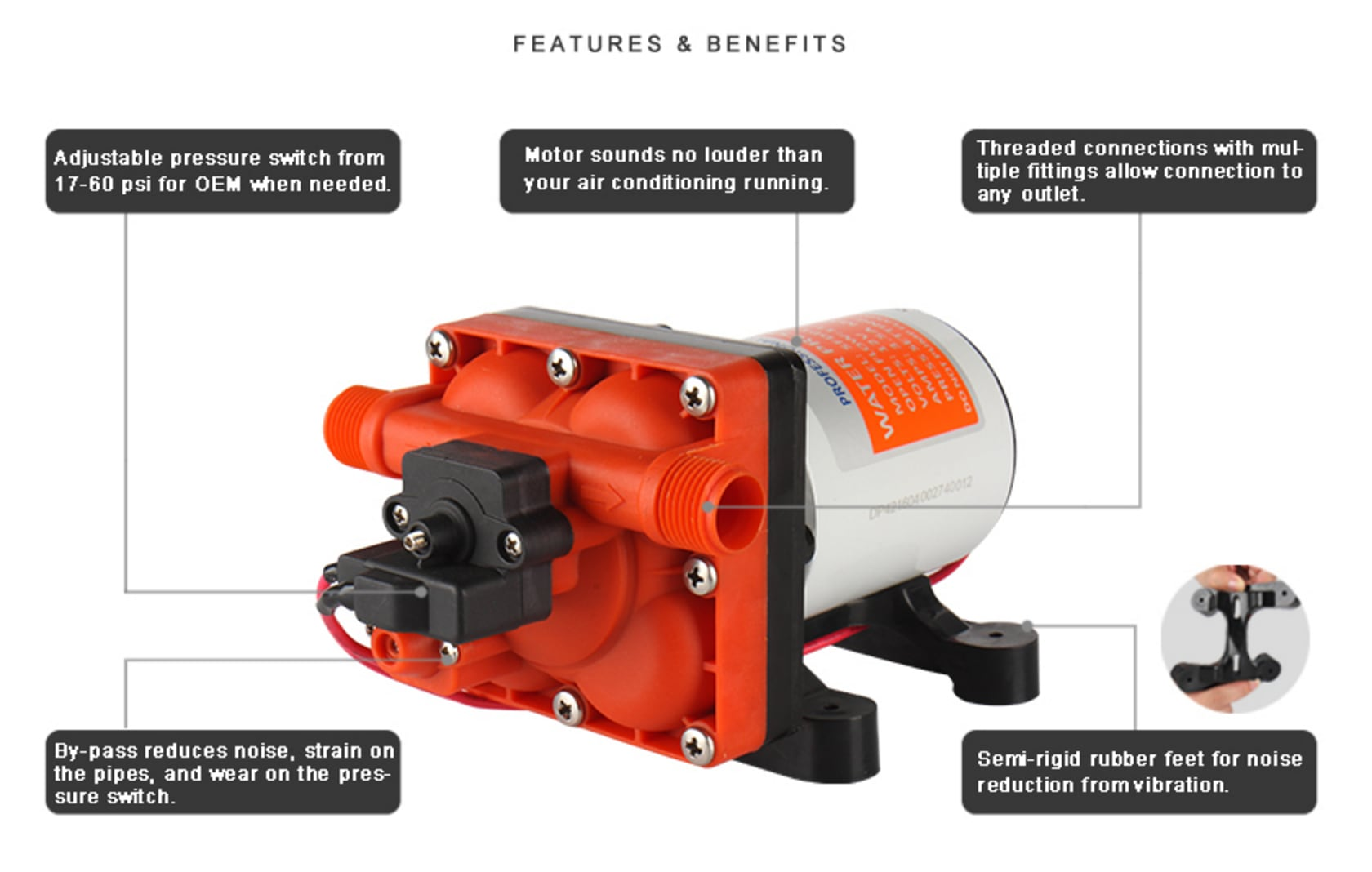 hight resolution of 42 series diaphragm water pumps