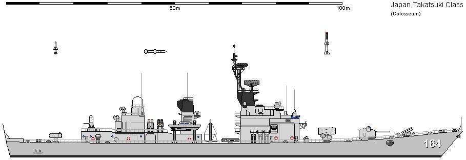 Takatsuki class Destroyer Japan Maritime Self Defense Force