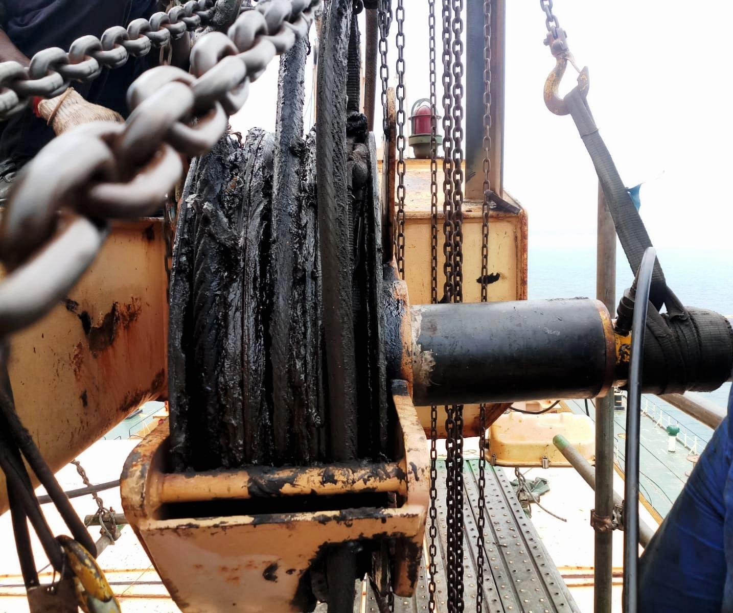 hoisting winch repair
