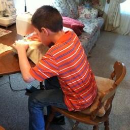 Kids Korner sewing 6