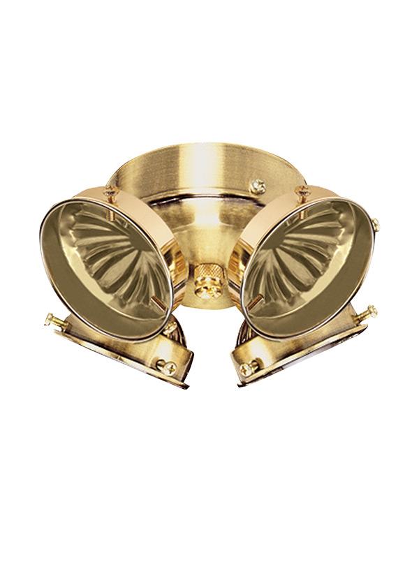 ceiling fan light kits rheem oil furnace wiring diagram 16151b 02 four kit polished brass