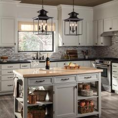 Kitchen Island Pendant Thermofoil Cabinets Sea Gull Lighting Application Image Gallery