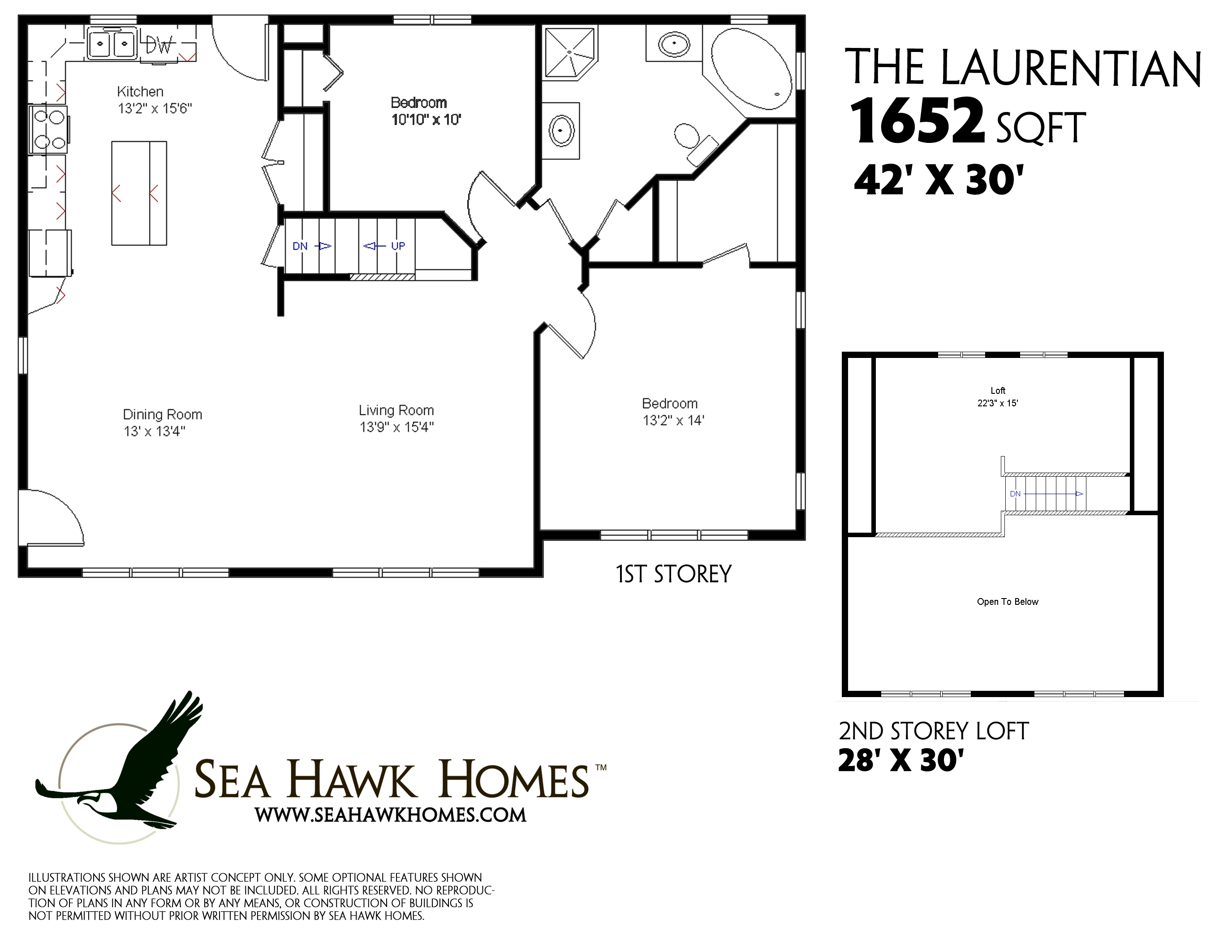 Laurentian Sea Hawk Homes