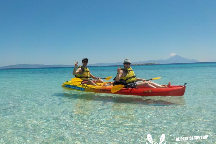 Sea Kayak Halkidiki Half Day trip