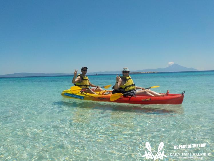 best destination for holiday activities-Sea Kayak Halkidiki Half Day trip