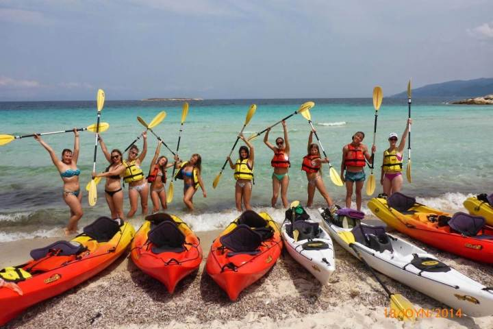 Sea Kayak Halkidiki Corporate and Group Events