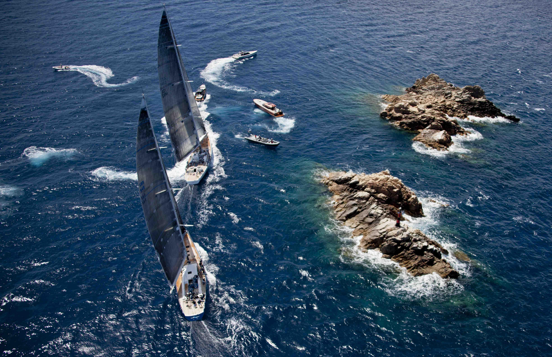 2014 Loro Piana Superyacht Regatta Underway In Sardinia