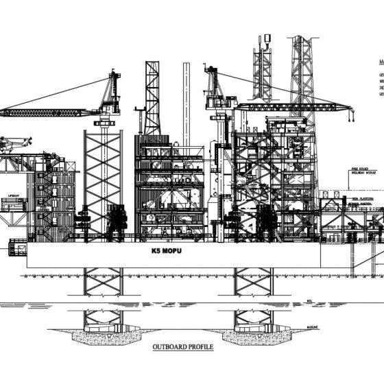 MOPU Transport & Installation (K5 Malaysia)
